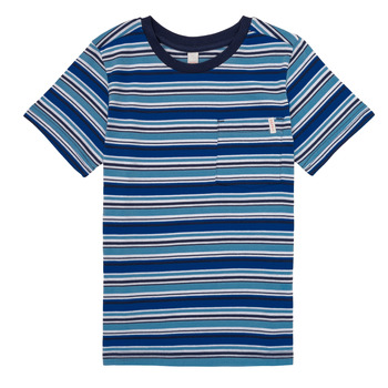 material Boy short-sleeved t-shirts Esprit ERNEST Blue