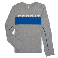 material Boy Long sleeved shirts Esprit FABIOLA Grey