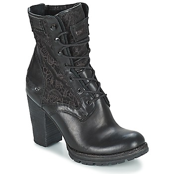 Shoes Women Ankle boots Bunker ACE MEGA Black