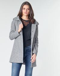 material Women coats Moony Mood POLINE Grey