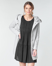 material Women coats Moony Mood ADELINE Grey / Clear