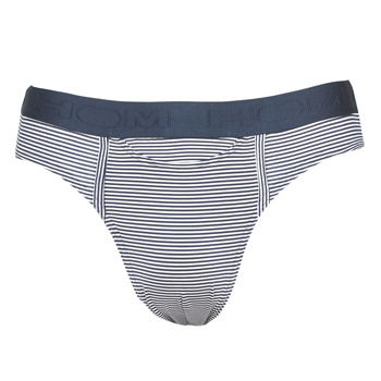 Underwear Men Underpants / Brief Hom SIMON MINI BRIEF Marine / White