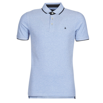 material Men short-sleeved polo shirts Jack & Jones JJEPAULOS Blue