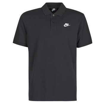 material Men short-sleeved polo shirts Nike M NSW CE POLO MATCHUP PQ Black / White