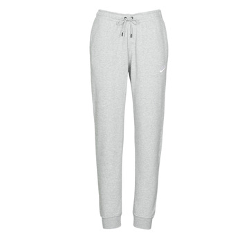 material Women Tracksuit bottoms Nike W NSW ESSNTL PANT REG FLC Grey / White
