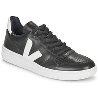 Shoes Men Low top trainers Veja V-10 Black / White