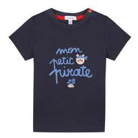 material Boy short-sleeved t-shirts Absorba NADINE Marine