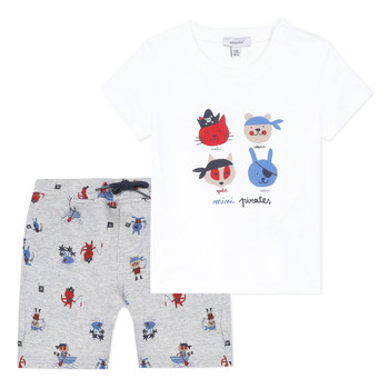 material Boy Sets & Outfits Absorba CLEM Grey