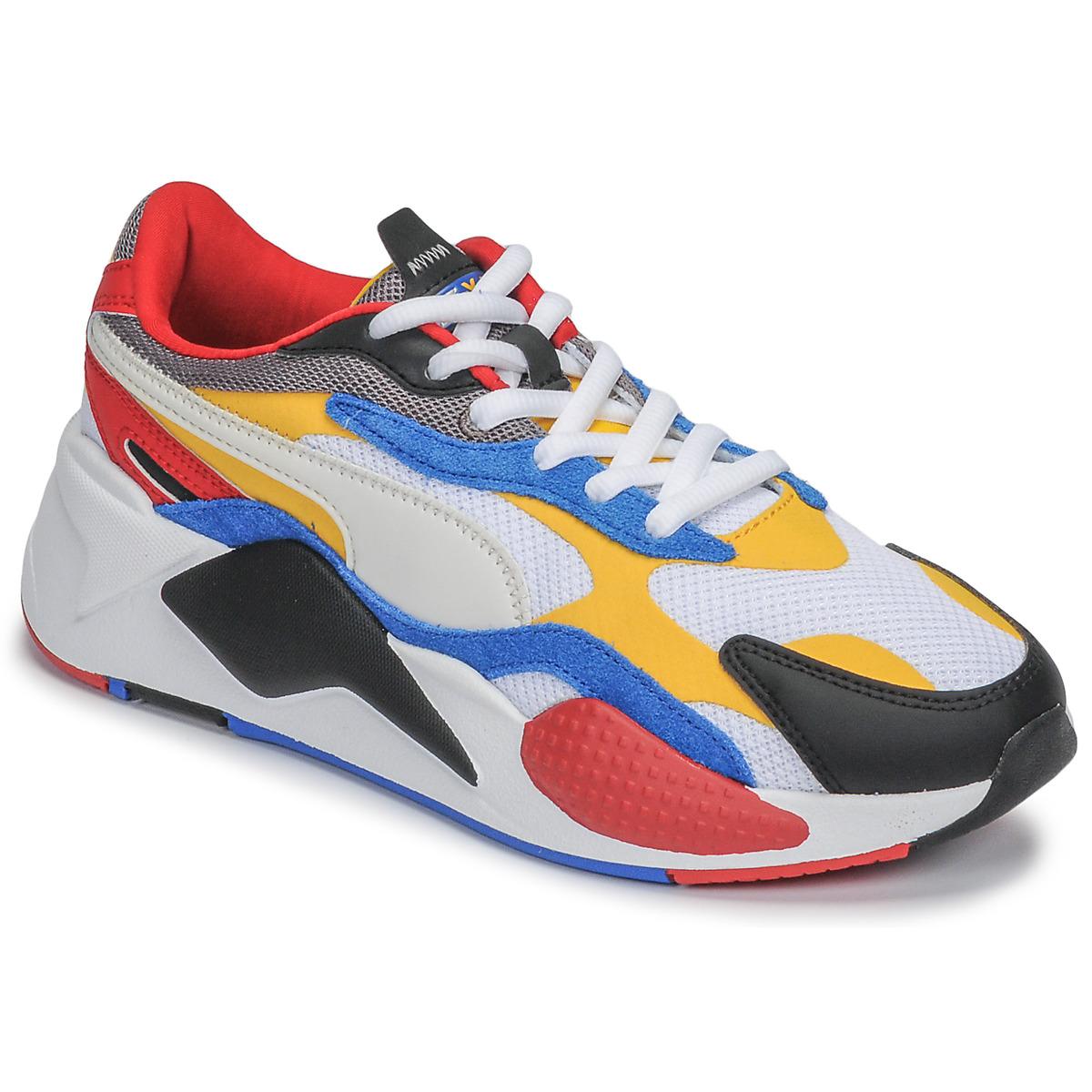 Barra oblicua Coche Explicación  Puma RS-X3 Multicolour - Fast delivery | Spartoo Europe ! - Shoes ...