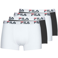 Underwear Men Boxer shorts Fila Pack de 4 Black / White