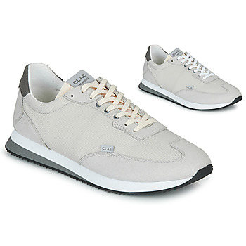 Shoes Men Low top trainers Clae RUNYON Grey