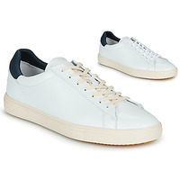Shoes Low top trainers Claé BRADLEY White / Blue