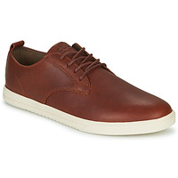 Shoes Men Low top trainers Clae ELLINGTON Cognac