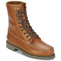 Shoes Men Mid boots Timberland AUTHENTICS 8 IN RUGGED HANDSEWN Earth / Cooked