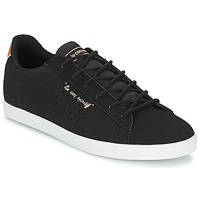 Shoes Women Low top trainers Le Coq Sportif AGATE LO Black
