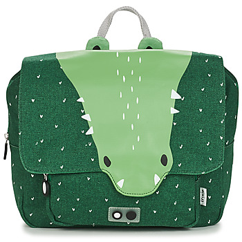 Bags Children Satchels TRIXIE MISTER CROCODILE Green