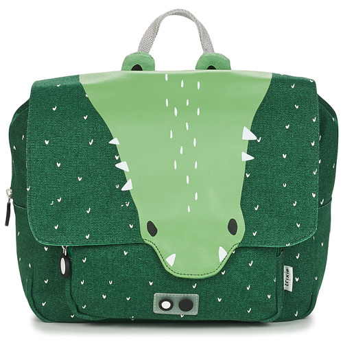 Bags Children Satchels TRIXIE MISTER CROCODILE Green