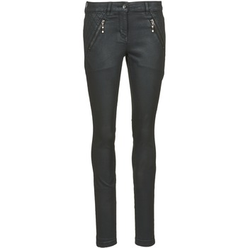 material Women slim jeans Tom Tailor LIRDO Black / Oiled