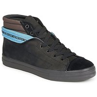Shoes Men High top trainers Bikkembergs PLUS MID SUEDE Black