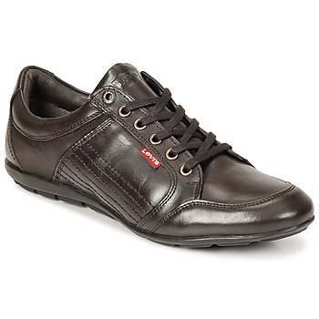 Shoes Men Derby shoes Levi's TOULON Brown