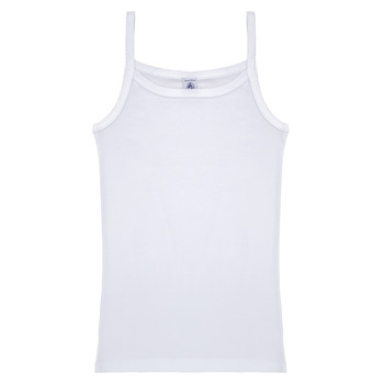 material Girl Tops / Sleeveless T-shirts Petit Bateau 53295 White