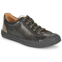 Shoes Girl Low top trainers GBB MATIA Black / Gold