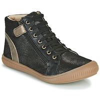 Shoes Girl High top trainers GBB RACHIDA Black