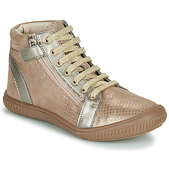 Shoes Girl High top trainers GBB RACHIDA Beige