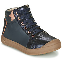 Shoes Girl High top trainers GBB ORENGETTE Blue