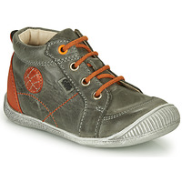 Shoes Boy High top trainers GBB OLAN Grey