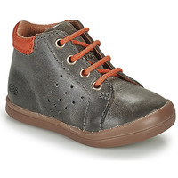 Shoes Boy High top trainers GBB TIDO Grey