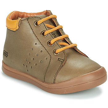 Shoes Boy High top trainers GBB TIDO Green