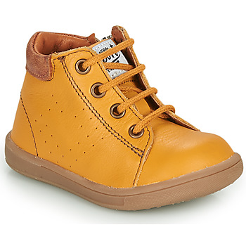 Shoes Boy Mid boots GBB FOLLIO Yellow