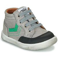 Shoes Boy High top trainers GBB VIGO Grey