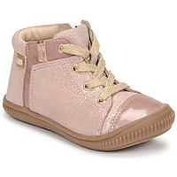 Shoes Girl High top trainers GBB OUNA Pink