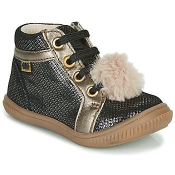 Shoes Girl High top trainers GBB ISAURE Black
