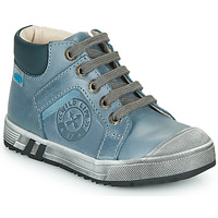 Shoes Boy High top trainers GBB OLANGO Blue