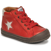 Shoes Boy High top trainers GBB KASSIO Red