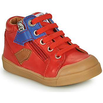 Shoes Boy High top trainers GBB IONNIS Red