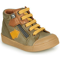 Shoes Boy High top trainers GBB IONNIS Green