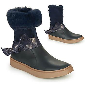 Shoes Girl Boots GBB EVELINA Marine