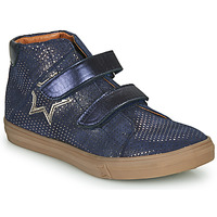 Shoes Girl High top trainers GBB MAYMA Blue