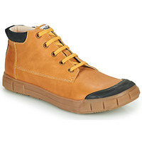 Shoes Boy High top trainers GBB SHEN Cognac