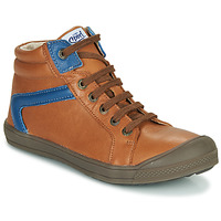 Shoes Boy High top trainers GBB IWEN Brown