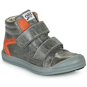 Shoes Boy High top trainers GBB KOLAN Grey
