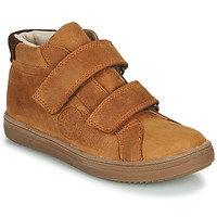 Shoes Boy High top trainers GBB NAZAIRE Brown