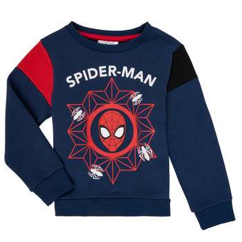 material Boy sweaters TEAM HEROES  SPIDERMAN SWEAT Marine