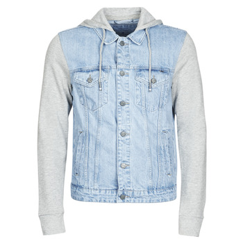 material Men Denim jackets Only & Sons  ONSCOIN Blue / Clear