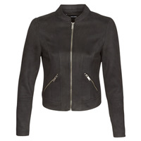 material Women Leather jackets / Imitation leather Vero Moda VMSUMMERSIV Black