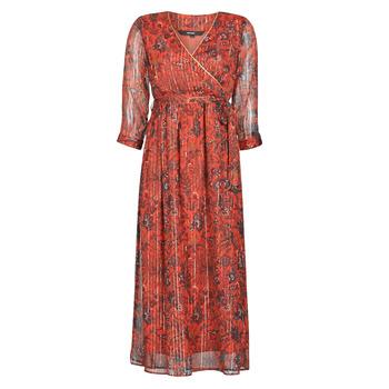 material Women Long Dresses Vero Moda VMGLAMMY Red